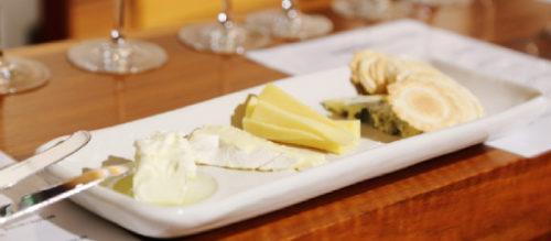 Cheese platter at De Bortoli Cellar Door, Yarra Valley